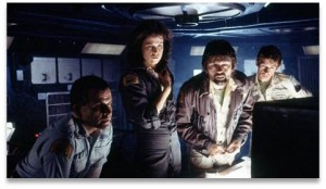 Crew of the spaceship Nostromo, Alien movie