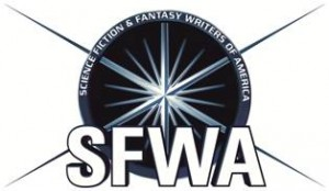 SFWA Logo, Science Fiction & Fantasy Writers Association, SFWA