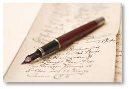 pen and paper, craft of writing, egocentric little scribbler's heart