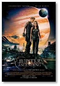 Jupiter Ascending, Mila Kuniss, Channing Tatum, Sean Bean, Eddie Redmayne